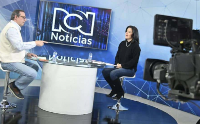 En entrevista con Ricardo Galán, director de Noticias RCN Fin de semana, Sylvia Constaín explica cuál fue el resultado de la subasta, que dejó como operadores a Claro, Tigo y Partners.