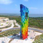 La Ventana al Mundo, el nuevo monumento de Barranquilla