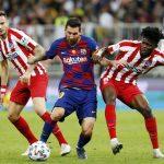 Atlético de Madrid derroto 3-2 al Bacelona en la Supercopa de España8