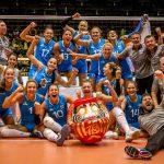 La selección argentina de Voleibol derroto a Colombia y va a Tokio 2020