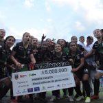 Once Caldas campeón de la cuarta edición del Torneo Nacional Fútbol Femenino