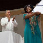 Este sábado, en Quibdó, el Presidente Iván Duque posesionó a la primera Ministra de Ciencia, Tecnología e Innovación, Mabel Torres, de quien afirmó que encarna el talante y el empuje de la mujer chocoana que es ejemplo para el país.