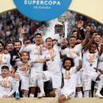 Real Madrid se llevo la Supercopa de españa 2020