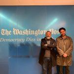 Senadores Roy Barreras de la U e Iván Cepeda del Polo en el Washintong Post