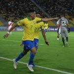 Brasil derrotó 1-0 a Perú 1