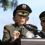 General Óscar Atehortúa,director de la Policía