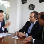 Gobernador de Cundinamarca, Nicolás García Bustos, se reunió el día de hoy con el ministro del deporte, Ernesto Lucena