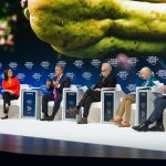En el Foro Económico Mundial, en Davos, el Presidente Iván Duque lanzó la estrategia de las biodiverciudades para la protección de la Amazonia y reiteró que derrotar la deforestación es clave para la preservación de esa región. Davos, Suiza-Foto: Nicolás Galeano- - Presidencia