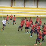 SELECCIÓN COLOMBIA SUB-23 REGRESÓ A TRABAJO PENSANDO EN VENEZUELA