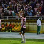 Teo celebra gol ante la Equidad