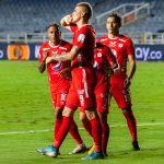 Michael Rangel  anoto en dos oportunidades,  en la victoria de los 'rojos'