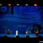 Teatro Dramático Nacional de Opera y Danza de China realizando una presentación en el Teatro Mayor Julio Mario Santo Domingo, en Bogotá