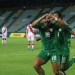La selección boliviana derrotó a la de Perú por 2-1-B