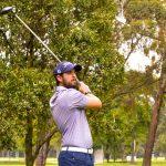 Golfista Carlos Avendaño, Foto: Santiago Gómez,