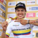 Exhibición y tricolor para Daniel Arroyave en el Nacional de ruta Sub-23 Boyacá