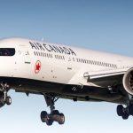 Aterriza con éxito en Madrid el avión en emergencia de Air Canada con 130 personas a bordo
