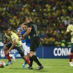 Selección Colombia empató 1-1 con Brasil