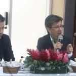 Gobernador Nicolás García y Alcaldesa Claudia López, comprometidos con la consolidación de la Región Metropolitana.