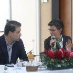 Gobernador Nicolás García y Alcaldesa Claudia López, comprometidos con la consolidación de la Región Metropolitana.2
