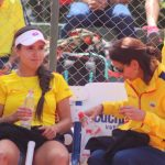 María Camila Osorio y Fabiola Zuluaga _ Foto: Match Tenis /FCT.