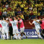 Argentina derroto 2-1 a Colombia y va a Tokio 2020