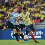 Selección Colombia Sub-23 perdió 1-3 ante Uruguay 4