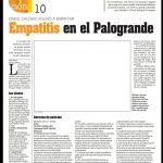 Publicación del Diario LA PATRIA de Manizales protestando Actitud del Once Caldas contra sus periodistas deportivos