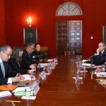 La Viceministra de Relaciones Exteriores, Patti Londoño, se reunió este viernes con el Director General para Iberoamérica del Ministerio de Asuntos Exteriores de este país europeo, Pablo Gómez de Olea. Foto OP Cancillería