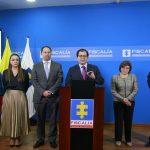 Fiscal General Francisco Barbosa presenta equipo de colaboradores