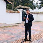 Diego Molano en Hato Grande