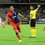 Andrés Ricaurte anotó, al minuto 15, el gol que le dio la victoria al Medellín sobre Tucumán.