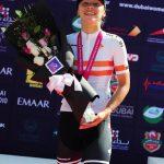 olombiana Daniela Atehortúa, segunda en etapa reina del Tour de Dubai