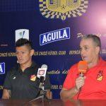 Néstor Craviotto,tecnico del deportivo Pereira habla del triunfo 1-0 sobre el Boyacá Chico
