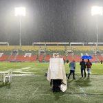 Suspendido partido entre el Tolima y Junior por problemas de mal tiempo.