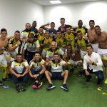 Alianza Petrolera celebra triunfo sobre Jaguares como visitante