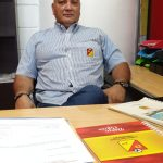 Rubén Marín tiene como responsabilidad la logística del partido entre Pereira y Once Caldas