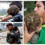 Milagroso rescate de bebe de 8 meses en Piedecuesta