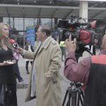 Presidente de ANATO, Paula Cortes con la Prensa