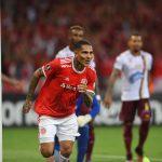 Celebracion de Gol de Paolo Guerrero de Internacional contra Tolima