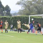 Michael Nike Gómez, (19) marcó el gol que le dio en empate a Envigado ante Aguilas Rionegro