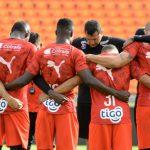 Unidos y muy motivados se encuentras los jugadores del Medellín para recibir a Libertad del Paraguay por el Grupo H de la Libertadores.