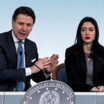El primer ministro italiano, Giuseppe Conte, a la izquierda © Il Messaggero