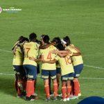Selección Colombia femenina Sub-20 derroto a Bolivia 8-0
