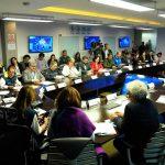 El Presidente Iván Duque Márquez lideró este viernes un Puesto de Mando Unificado (PMU)