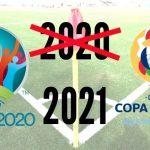 La Eurocopa y la Copa América 2020 pasan a 2021