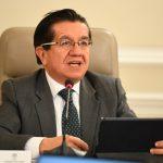 El ministro Fernando Ruiz Gómez explicó el Plan de contingencia para afrontar la epidemia en el país.
