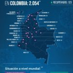 Colombia supera los 2000 contagiados por el COVID - 19