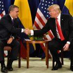 Presidentes  Duque  el  Donald Trump