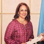 Embajadora ante Naciones Unidas, Adriana del Rosario Mendoza