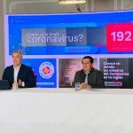Ministro de Salud y Protección Social, Fernando Ruiz, en el FB Live de Presidencia dando respuestas a la ciudadanía.